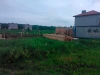 Строительство коттеджа- разбивка осей здания