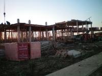 Дома на стадии строительства